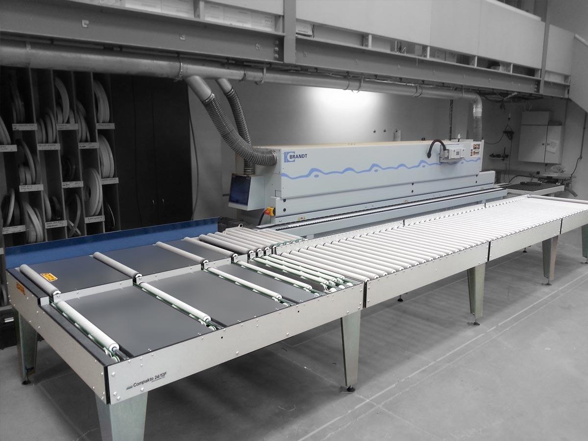 24-12 panel return on Brandt edgebander
